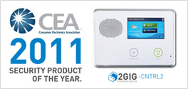 2Gig CEA Security Product Award of Y2011